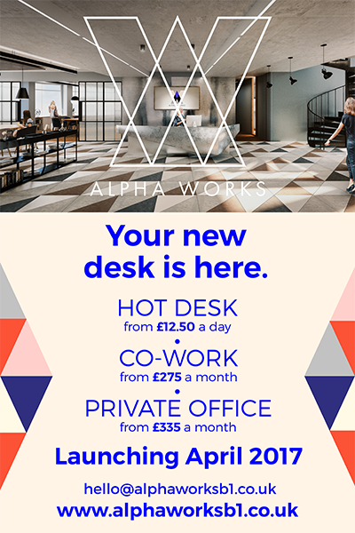 Alpha Works - Your new desk is here