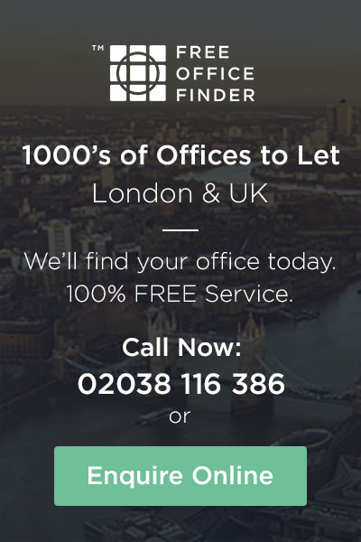Free Office Finder - 1000's of Offices To Let in London and the UK
