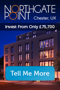 Northgate Point, Chester, UK. Advert.